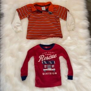 Boys 3T Name Brand Shirt & Sweater Lot - 4 Pieces